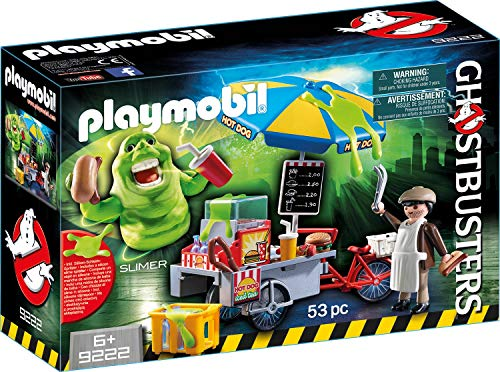 PLAYMOBIL Ghostbusters Slimer con Stand de Hot Dog, a Partir