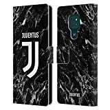 Head Case Designs sous Licence Officielle Juventus Football Club Noir Marbre Coque en Cuir à...
