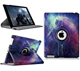 iPad 2/3/4 Case - 360 Degree Rotating Stand...