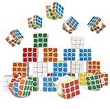 30 Stück Mini Zauberwürfel für Kinder, Kleine Speed Magic Cube Spielzeug, 3cm| Lebendige Farben & Ungiftig| Weihnachten Kindergeburtstag Geschenke Party Giveaways Gastgeschenke Mitgebsel Mitbringsel.