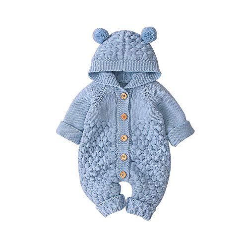 VICROAD Baby Hooded Knitted...