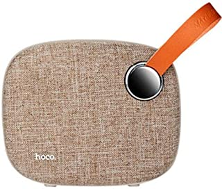 HOCO BS8 Plain Textile Desktop Wireless Speaker TF Card AUX Pendrive