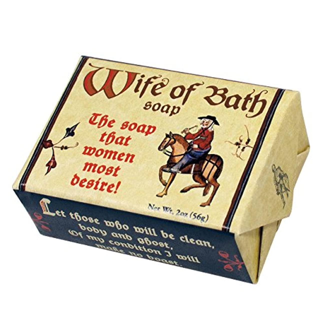 Wife of Bath Soap - 1 Mini Bar of Soap - Made in The USA