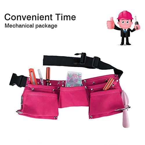 Himm Kinder Werkzeug Gürtel, Konstruktion Werkzeug Gürtel, Kind Werkzeug Schürze, Candy Tasche für Jugend Dress Up und Kostüm
