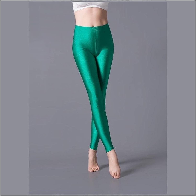 Shiny Leggings Women Thin Full Philadelphia Cheap Mall Ankle Pan Stretch Length