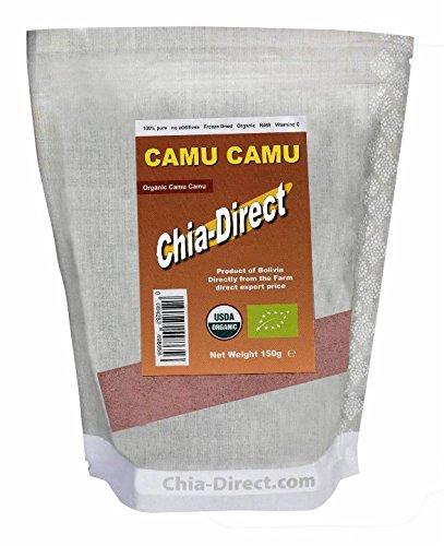 150gr camu camu poeder - 100% puur bio (3 stuks)