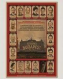 YOUCAIHUA Das Grand Budapest Hotel Vintage Poster Oscars