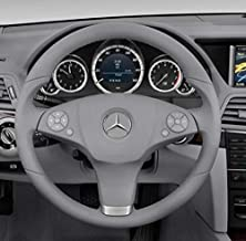 Grey Mercedes Benz Matte Steering Wheel Button Repair Decals