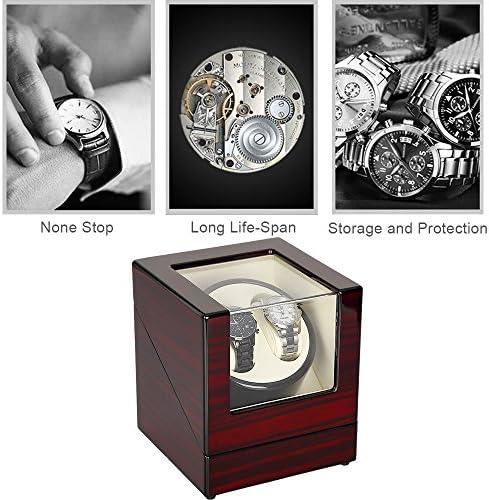 Kranich-Automatic Watch Winder Box Luxury Wooden Storage Case WeeklyReviewer