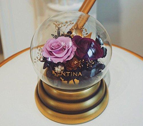 LHY- Konservierte frische Blumen-Rose-Musik-Geschenkbox for Valentinstag, Muttertag Mode