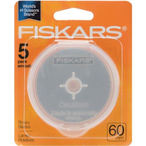 Fiskars 1004013 ROTARY BLADE-60MM 5/PKG