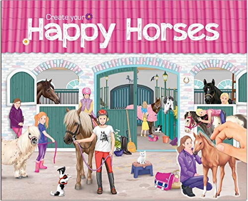 Top Model Create Your Happy Horses (0010176), Mehrfarbig (DEPESCHE 1)