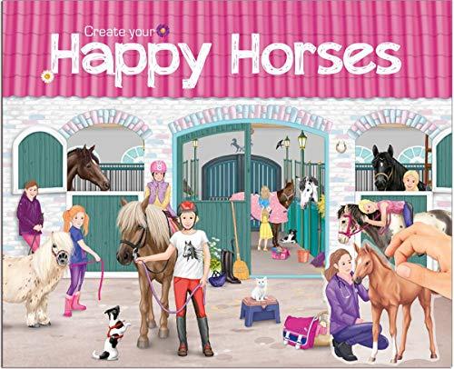Top Model Create Your Happy Horses (0010176), Multicolore (DEPESCHE 1)