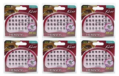 Kiss I Envy Trio Short 30 Trio Lashes (Pack of 6)