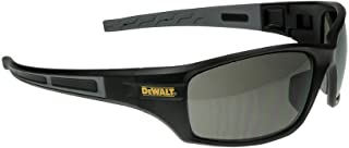 SAFETY GLASSES SMOKE/BLK