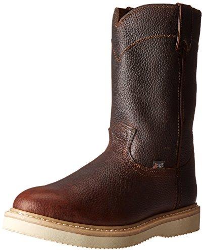 Justin Original Work Boots Men's Premium Wk Work Boot,Tan Premium,9 M US