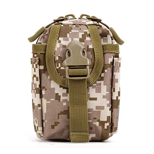 Outdoor Attachment 4,5 pouces téléphone portable Sac petit paquet Petit sac 9 * 13 * 7cm , 4