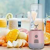 Portable 400 ml 15000-22000 tr/min USB presse-fruits électrique 80 W haute Borosilicate verre...