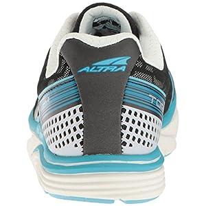 ALTRA Women's Torin IQ Running Shoe, Silver/Blue, 6.5 B US
