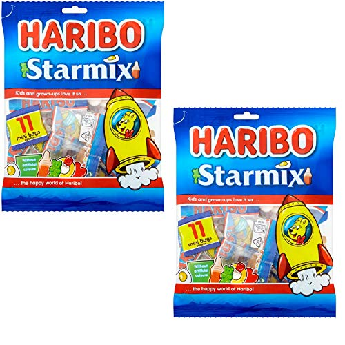 Haribo Starmix Jellies Multipack Size 176g Pack of 2