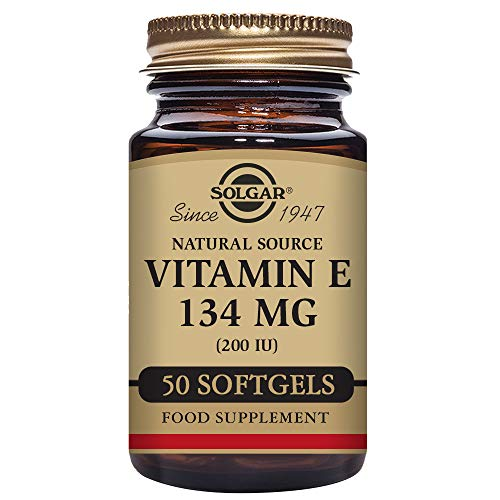 Solgar Vitamina E 200 UI (134 mg) 50 Cápsulas blandas