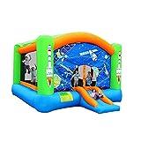 LHAHGLY Luftkissenschloss Kinder Aufblasbare Bouncy Castle Space Trampoline Familie Hinterhof...