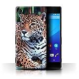 eSwish Hülle/Case für Sony Xperia M4 Aqua/Südamerikanischer Jaguar Muster/Wilde Große Katzen Kollektion