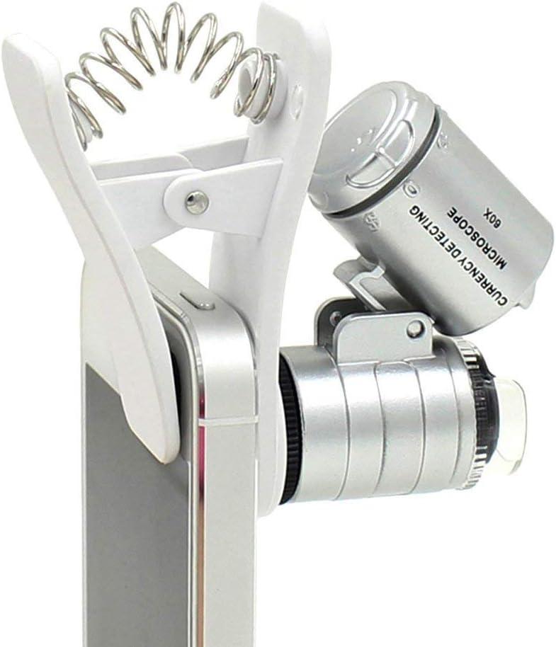 Merlin Scientific 60X Zoom LED Clip-Type Jewelr overseas Super Special SALE held Loupe Microscope