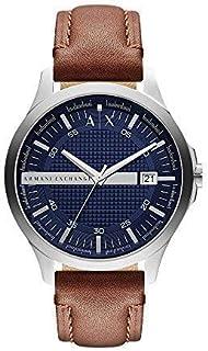 Armani Exchange Gents Wrist Watch, Brown one size