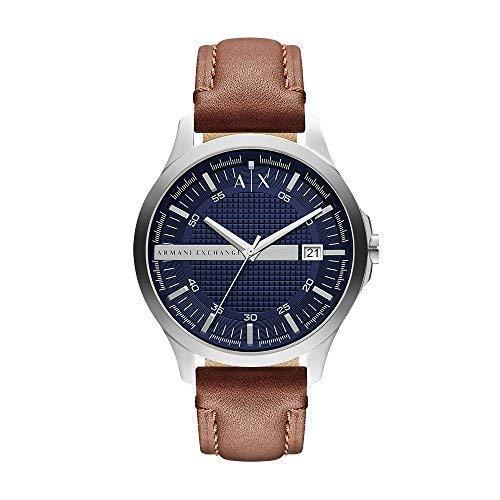 Reloj Armani Exchange para Hombres 46mm, pulsera de Piel