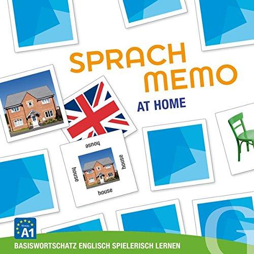 Sprachmemo Englisch / Sprachmemo Englisch: At Home: Basiswortschatz Englisch spielerisch lernen / Sprachspiel