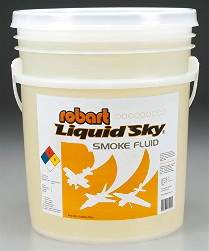 Robart Manufacturing Liquid Sky Smoke Oil 5 Gallon Pail (1), ROB21005