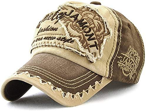 AVASAGS Baseball Kappe für Männer und Frauen, Vintage Baseballmütze Basecap Baseballcap, Outdoor Freizeit Einstellbare Retro Mützen Caps Kappe (B-Kaffee)