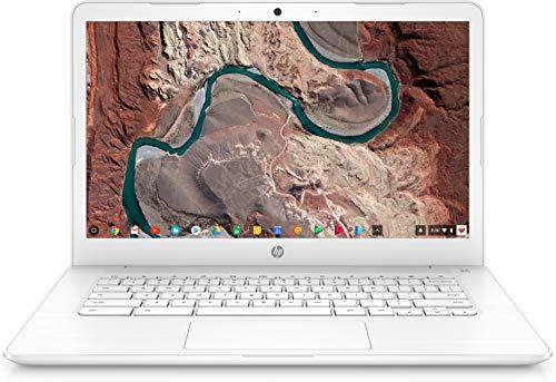 "HP Chromebook 14, 14"" Full HD Touchscreen Display, Intel Celeron N3350, Intel HD Graphics 500, 32GB eMMC, 4GB SDRAM, B&O Play Audio, Snow White, 14-ca052wm"