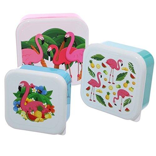 Puckator LBOX07 Lot de Trois boîtes Repas, Multicolore, Standard