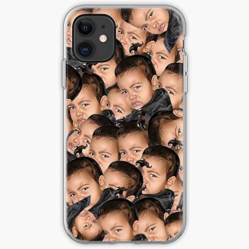 West Kardashian Kim Funny Meme Comedy Kanye Kimoji North I Fsgblockchain-Phone Case for All of iPhone 12, iPhone 11, iPhone 11 Pro, iPhone XR, iPhone 7/8 / SE 2020… Samsung Galaxy