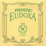Pirastro Eudoxa 4/4 Cello C String - Silver/Gut - 35(Medium) Gauge