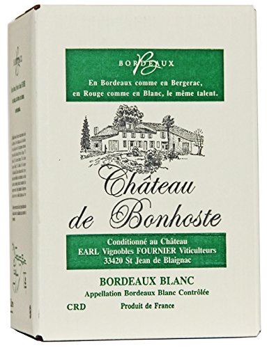 Château de Bonhoste AOC Bordeaux Blanc Bag-in-Box Weißwein trocken (1 x 5l)
