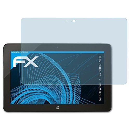 atFolix Schutzfolie kompatibel mit Dell Venue 11 Pro 5000/7000 Folie, ultraklare FX Bildschirmschutzfolie (2X)