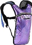 SoJourner Bags hidratación Mochila uno tamaño Brillo - púrpura