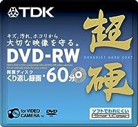 TDK 8cmDVD-RW 60分記録 超硬 スマートケース入り 単品 DRW60HCA