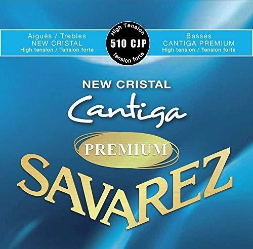 Savarez Cordes Guitare classique New Cristal Cantiga Premium Jeu tension forte