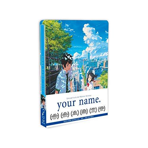 Your Name Blu-Ray Edicón Metálica + Pulsera [Blu-ray]