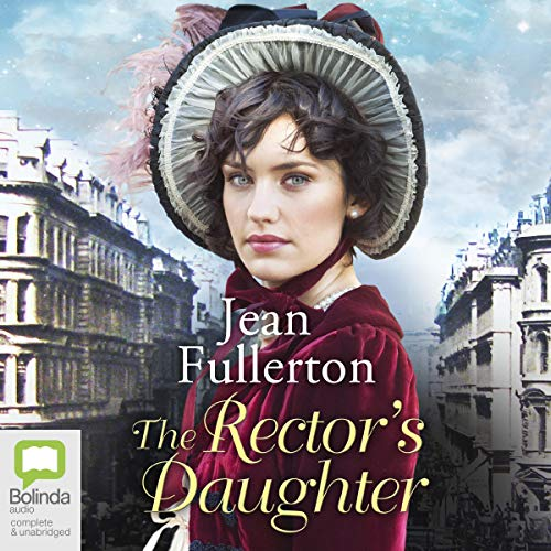 The Rector's Daughter audiobook cover art