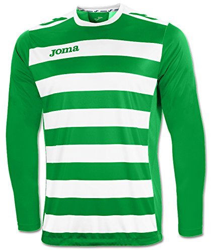 Joma 1211.99.004 T-Shirt Manches Longues Sportswear, Vert/Blanc, FR (Taille Fabricant : 10-12 Ans)