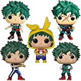 5Pcs Pop Vinyl Anime My Hero Academia Midoriya Izuku Deku # 247 # 373 # 564 # 596 # 494 Deku In Onesie Figura De Acción Muñecas Modelo Colecciones Juguetes para Niños