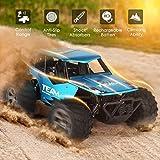 Wghz 1/16 Crawlers Off Road Vehicle Toy Remote Control Car, 4WD 2.4Ghz RC Cars Coche de Control Remoto, Off Road Cars Vehículo, niños de 3 4 5 6 7 8-12 años de Edad