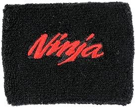 Kawasaki NINJA Black/Red Brake Reservoir Cover by MotoSocks Fits ZX-6R, ZX-9R, ZX-10R, ZX-12R, ZX-14R, ZX6, ZX9, ZX10, ZX12, ZX14, Ninja