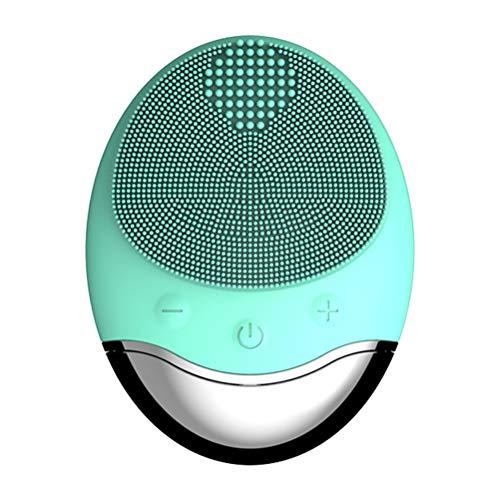 Macabolo Nettoyant pour le visage en silicone pour pores profonds, outils de nettoyage sans fil