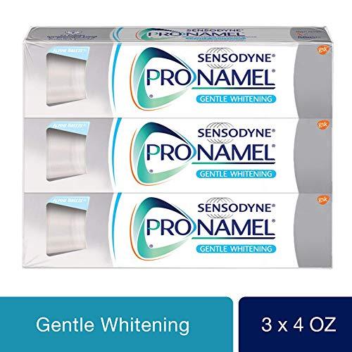 Sensodyne Pronamel Gentle Whitening, Sensitive Toothpaste, 4 oz (Pack of 3)